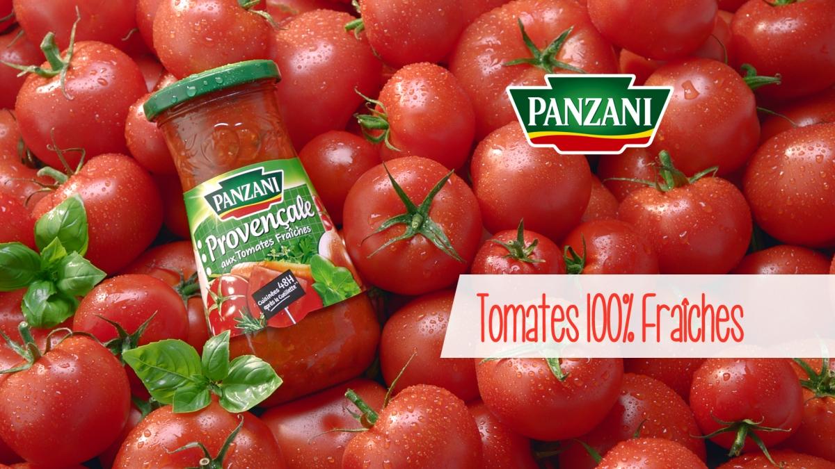 Panzani tomates fraiches